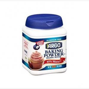 Argo Baking Powder – Aluminum Free (340g)