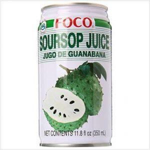 Foco Soursop Juice Drink (Jugo De Guanabana/Graviola) –  (350ml)