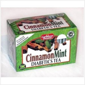 Caribbean Dreams – Cinnamon & Mint / Diabetics Tea (20 Pack)