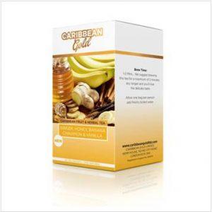 Caribbean Gold – Ginger, Honey, Bannana, Cinnamon & Vanilla (20 Pack)