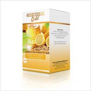 Caribbean Gold – Green Tea Ginseng Honey & Lemon (20 Pack)