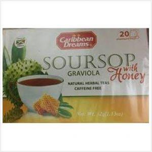 Caribbean Dreams – Soursop Graviola with Honey (20 Pack)
