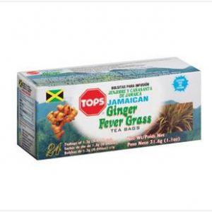Tops – Jamaican  Fever Grass (24 Pack)