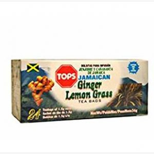 Tops – Ginger & Lemon Grass (24 Pack)