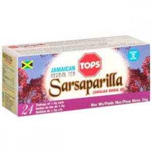 Tops – Sarsaparilla Tea (24 Pack)