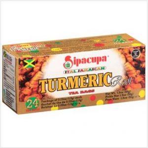 Sipacupa – Jamaican Tumeric (24 Pack)