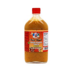 Aunt May's Bajan Pepper Sauce (340g)   Barbados